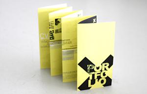 Graphic design I author: Karolina Tarkowska I 2013  Portfolio_selected works 2009 - 2012_folding brochure